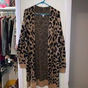 BP Leopard cardigan